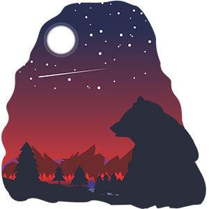 Emission radio, conte sur les ours