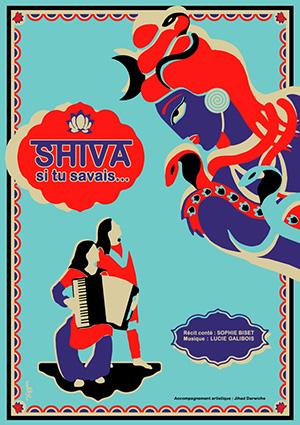 Spectacle de conte en drome : Affiche Shiva si tu savais