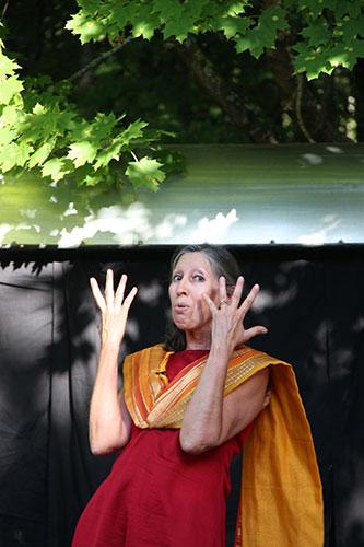 Spectacle de conte en drome : Shiva si tu savais 4