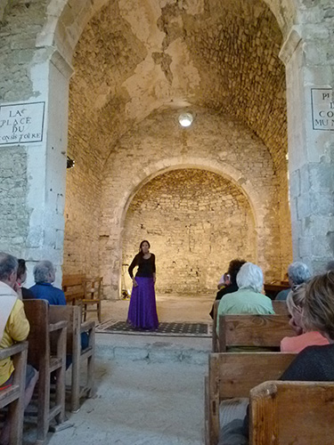 Spectacle de conte, Villefranche de Lauragais 1